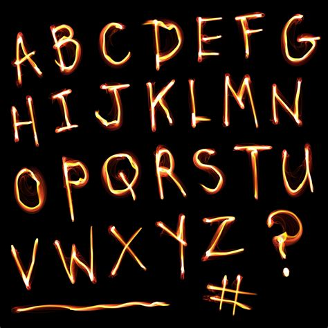 alphabet glow free stock photo domain pictures