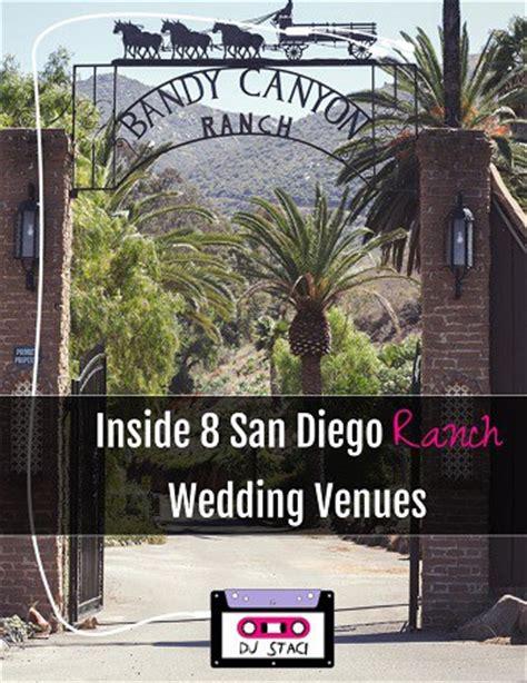 Wedding Venues San Diego by Inside 8 San Diego Ranch Wedding Venues San Diego Dj