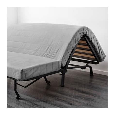 futon 1 place ikea lycksele h 197 vet two seat sofa bed ransta white ikea