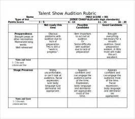 talent show score sheet 8 free samples examples amp formats
