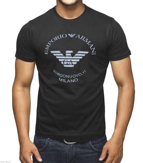 Tshirt Giorgio Armani Dealldo Merch bnwt emporio armani borgonuovo 11 stylish t shirt available in m l and xl size ebay