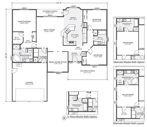 Home Floor Plans Ramblers Windham Hill East True Built Home Pacific Northwest