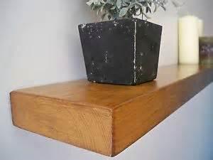 custom made solid wooden floating shelf shelves 1ft 2ft