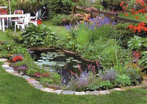 21 Garden Design Ideas Small Ponds Turning Your Backyard Backyard Landscaping Ideas