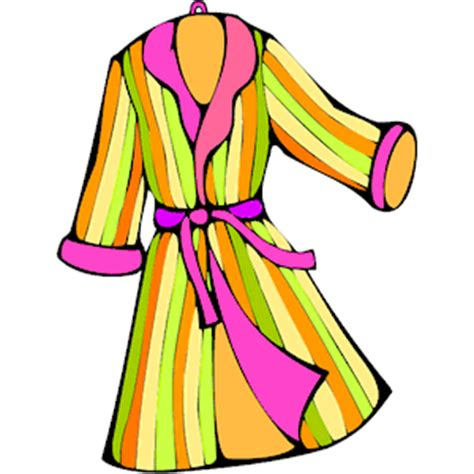 Robe Clipart bathrobe clipart clipart suggest