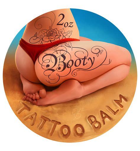 tattoo booty artstation shellz