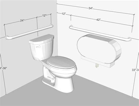 ada requirements for bathroom grab bars accessible washroom dimensions crafts