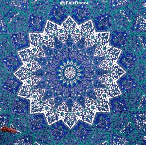 blue pattern tapestry dark blue star elephant tapestry tapestries blue hippie