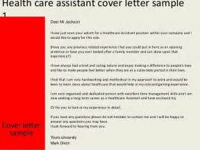 Patient Care Assistant Cover Letter by Health Care Assistant Cover Letter Exles Clipartsgram
