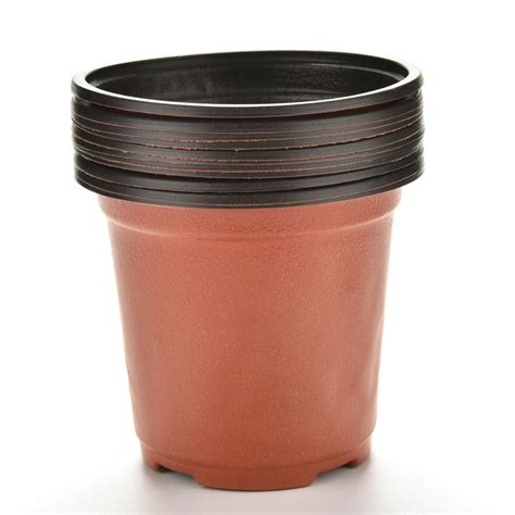 10pcs Pack New Pp Plastic Flower Pots Small Pots Nursery Small Planter Pots