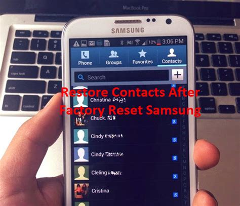 reset android keep contacts android data recovery how to recover contacts after
