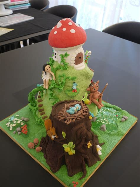 enchanted forest cake cakecentralcom