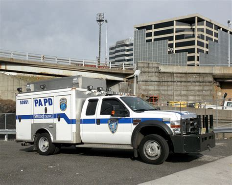 papd port authority emergency service truck george