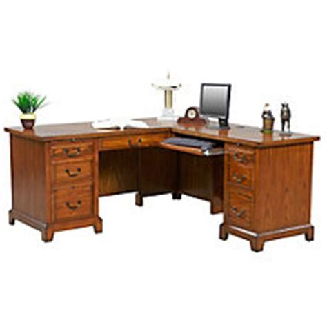 craftsman style office furniture mission style home office desks amish made oak craftsman