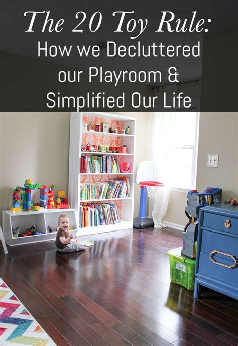 a simple way to organize toys our house now a home 12 easy ways to declutter your home mom spark mom blogger