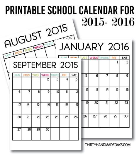 printable calendars crafting rain