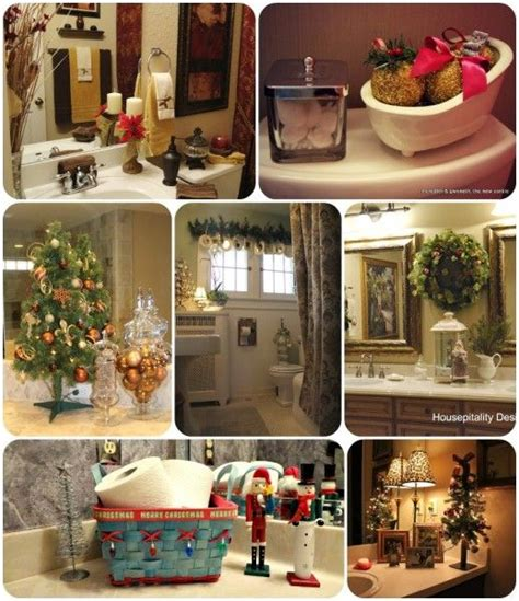 holiday bathroom decorating ideas christmas bathroom decor ideas home and decor pinterest