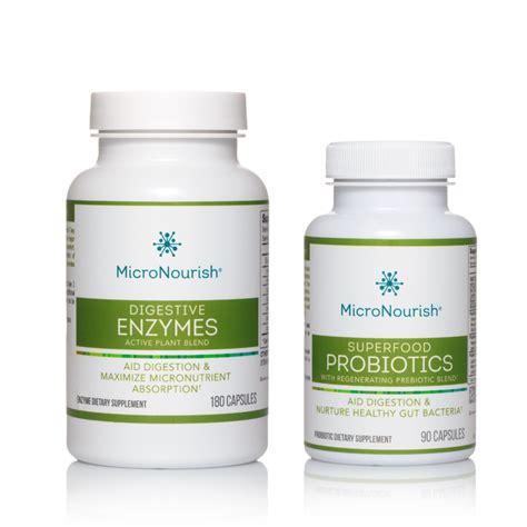 Digestive Plant Enzymes Superfood Probiotics