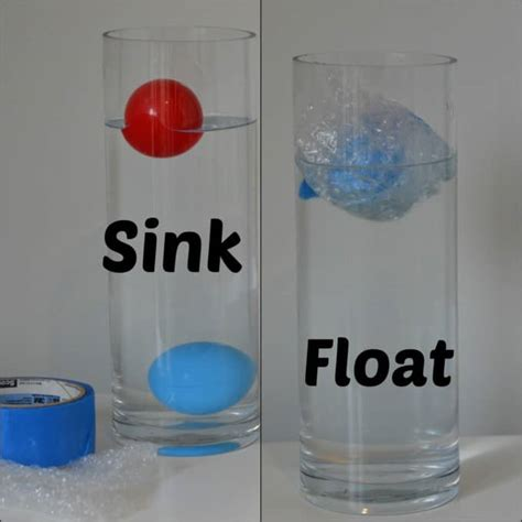 Objects That Sink And Float by Why Do Things Float In Water Science Sparks