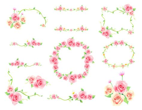 download tema line android vintage flower free floral border cliparts download free clip art free