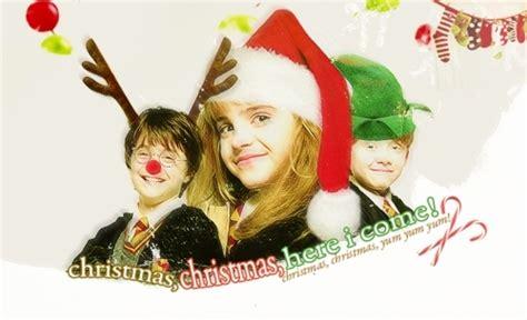 merry potter christmas harry potter fan art  fanpop
