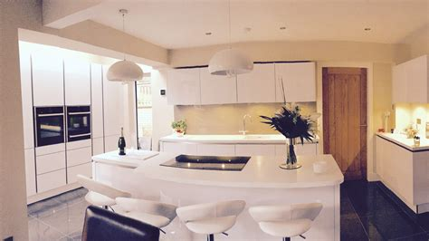 modern german kitchen designs modern german kitchen with corian worktops british design utility norma budden