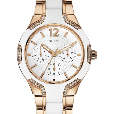 Guess Highline W0829l3 montre center stage w0556l3 guess blanc montres and co