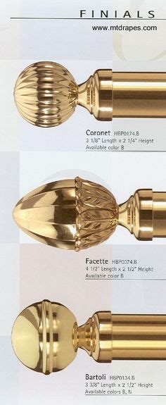 7 Pretty Finials by 1000 Images About Finials On Brass