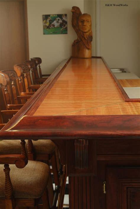 solid wood bar top basement bar design 7 bar top and countertop surfaces