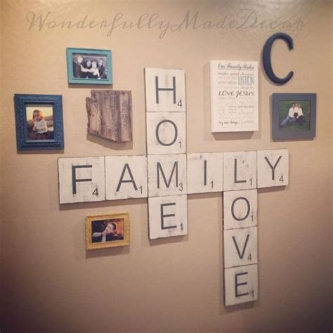 scrabble letters home decor 25 best ideas about scrabble wall art on pinterest