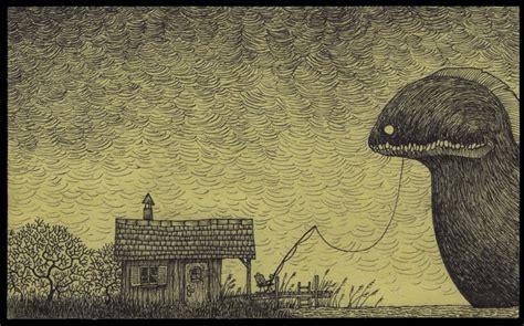 it monster monster illustrating life