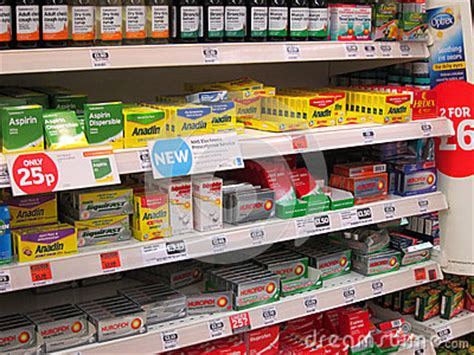 Shelf Oxycodone by Killers On A Superstore Shelf Editorial Image