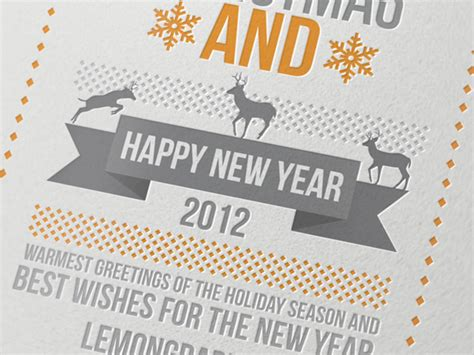 best new year card design 35 remarkable postcard designs print24