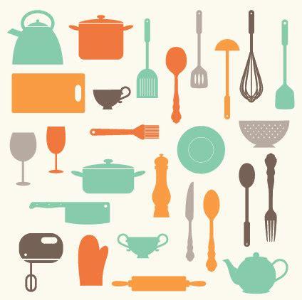 Vintage Kitchen Clipart by Vintage Kitchen Baking Utensils Illustration Best Home