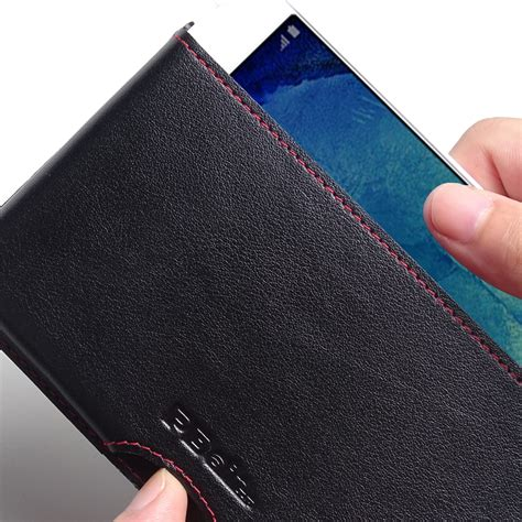 Imak Ruiyi Leather For Samsung Galaxy A8 A8000 samsung galaxy a8 leather wallet pouch stitch pdair