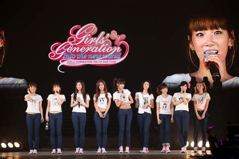 Generation The 1st Asia Tour Into The New World official 1st asia tour concert photos released snsd korean