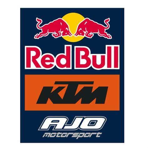 Ktm Aufkleber Ready To Race by Bull Ktm Ajo Redbull Ktm Ajo