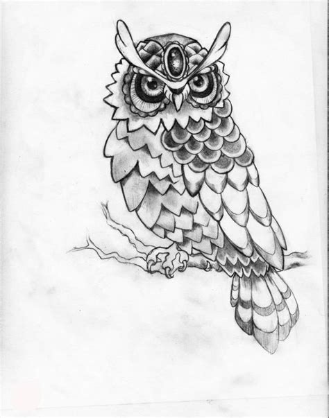 owl tattoo line drawing 34 best owl sketches for small tattoos images on pinterest