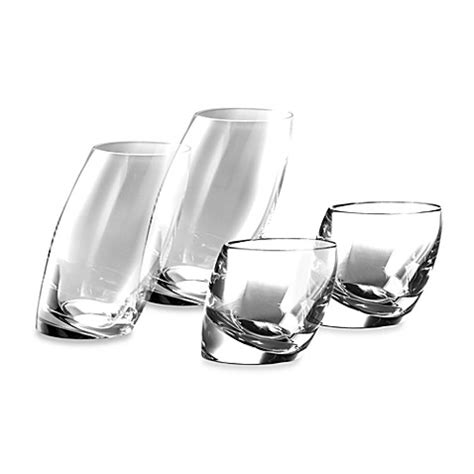 nambe barware nambe tilt crystal barware collection bed bath beyond