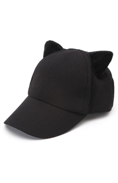 pacsun kendall kylie cat ear baseball hat pradux