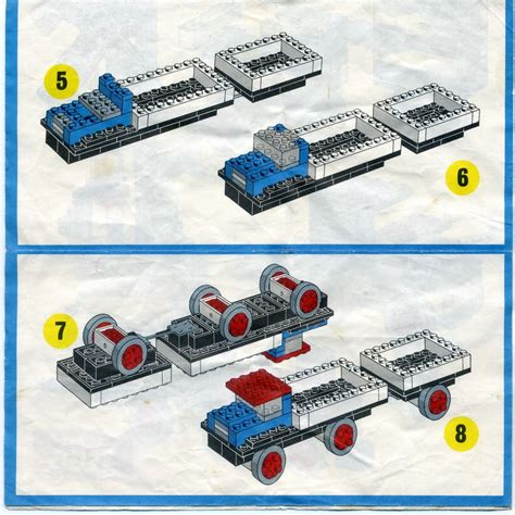 lego boat and trailer instructions lego truck and trailer instructions www pixshark