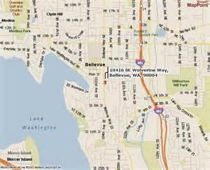Bellevue Washington Map by Bellevue Wolverines Play At Bellevue High