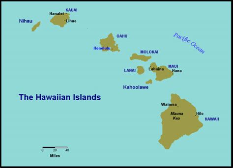 map of hawaii islands hawaiian islands images search