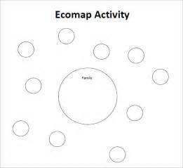 ecomap template social work best photos of printable ecomap template exle blank