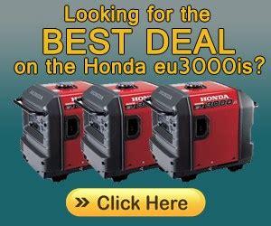 Honda Eu3000 by Honda Eu3000is Generator