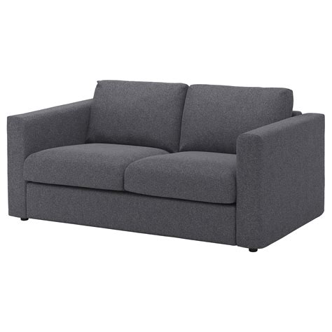 grey sofa ikea vimle 2 seat sofa gunnared medium grey ikea