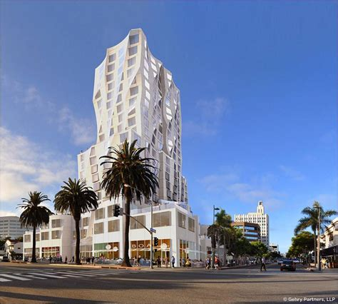 frank gehry designed hotel tower coming to santa