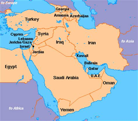 the middle east s new geopolitical map