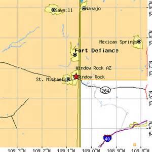 window rock arizona az population data races