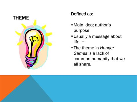 the hunger games themes humanity inhumanity ppt introduction to short stories literary terms english